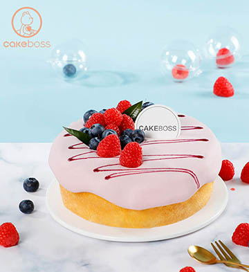 爆漿蛋糕(藍莓)(6寸)