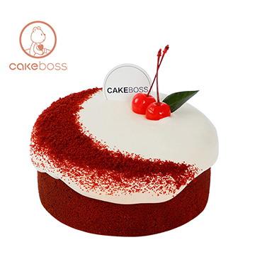 爆漿蛋糕(紅絲絨)(6寸)