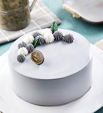 宮廷霜韻黑芝麻冰淇淋蛋糕(6寸)