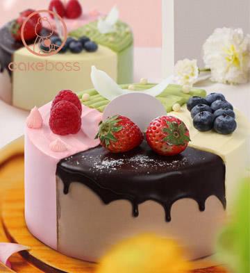 缤纷四季乳脂蛋糕