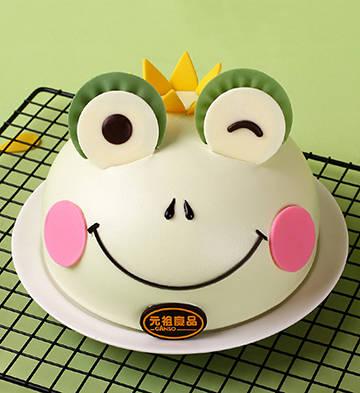 青蛙来了鲜奶蛋糕(6寸)