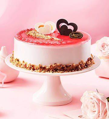 粉紅心情冰淇淋蛋糕(6號)