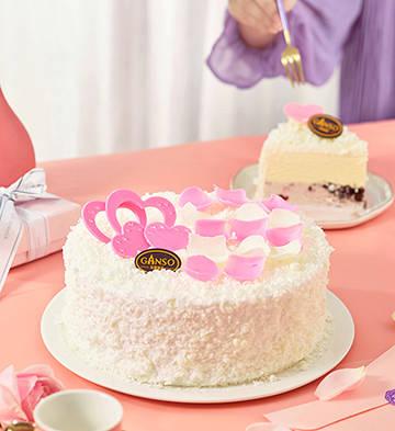 莓麗春心冰淇淋蛋糕(6號)