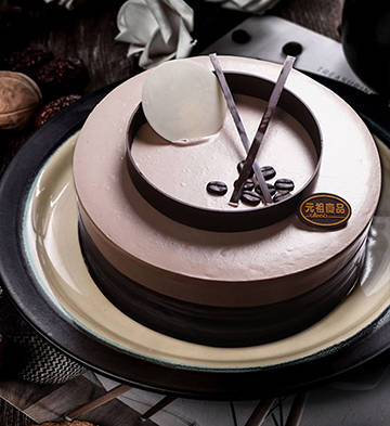 朵朵咖啡鲜奶蛋糕(6号)