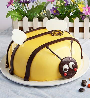金蜜蜂鲜奶蛋糕(6号)