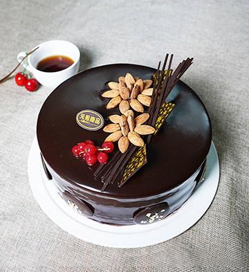 坚果之恋鲜奶蛋糕(6号)