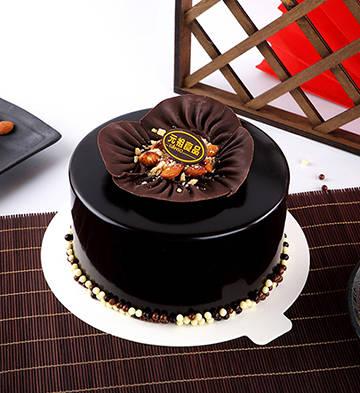 溪云初起巧克力蛋糕(6号)