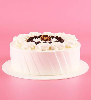 纤云弄巧鲜奶蛋糕(迷情蓝莓风)(6号)