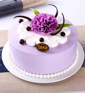 吟紫鸢鲜奶蛋糕(6号)