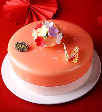 灼灼奇花鲜奶蛋糕(6号)