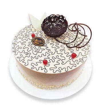 小圆香径鲜奶蛋糕(黄金燕麦)(8寸)