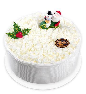 圣诞飞雪(8寸)