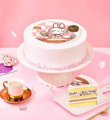 咪兔当家鲜奶蛋糕(8号)
