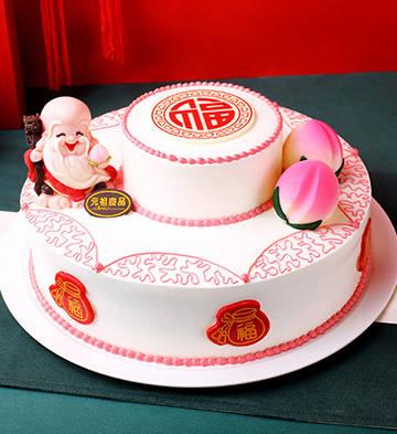 福佑序鲜奶蛋糕(10号)