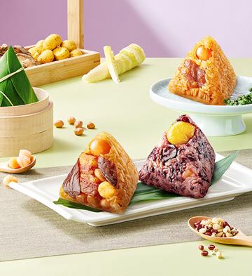 紫米八宝粽