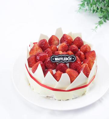 草莓烤芝士蛋糕(6寸)