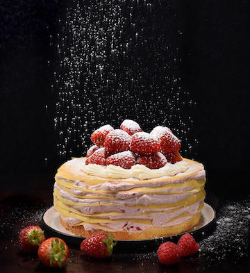 草莓雪千层蛋糕(8寸)