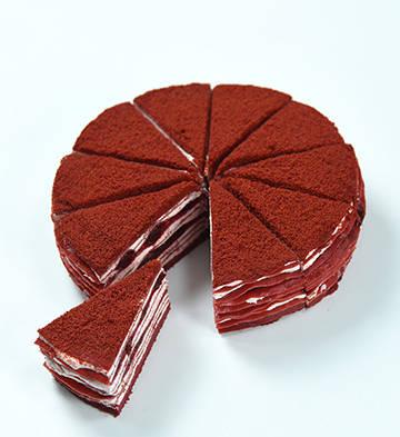 红丝绒千层蛋糕(8寸)