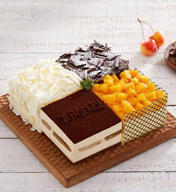 四重奏蛋糕(約2磅)