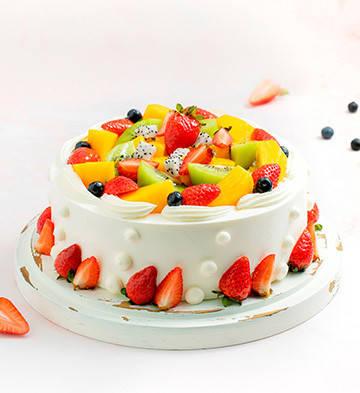 浪漫果纷蛋糕(约2磅)