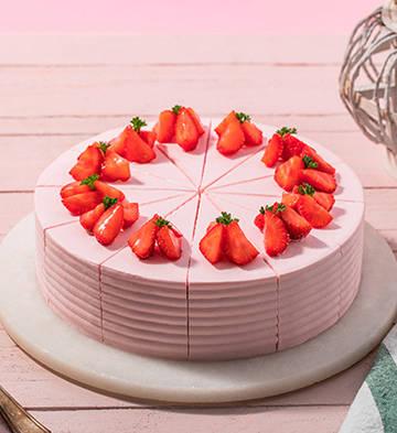 烈焰莓莓(12塊)【無賀卡、巧克力牌、蠟燭、生日帽】
