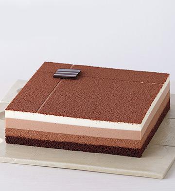 巧克力四重奏蛋糕(2-4人食)