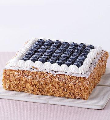 蓝莓拿破仑蛋糕(2-4人食)