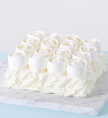 玫瑰雪域芝士蛋糕( 5-8人食)