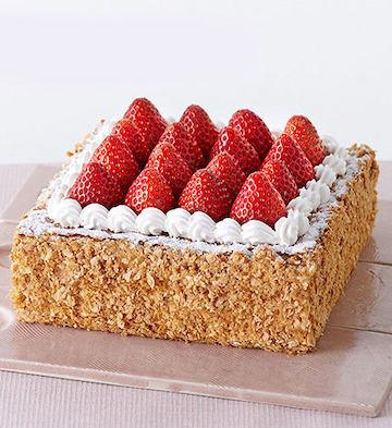 草莓拿破仑蛋糕(5-8人食)