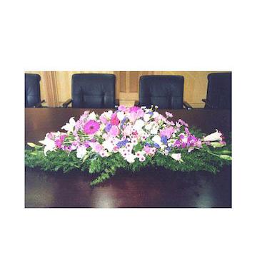 会议桌花B