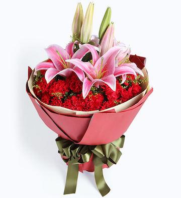 鲜花/感激