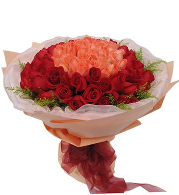 浪漫情人99朵玫瑰