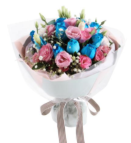 送女朋友蓝玫瑰(蓝色妖姬)代表什么?