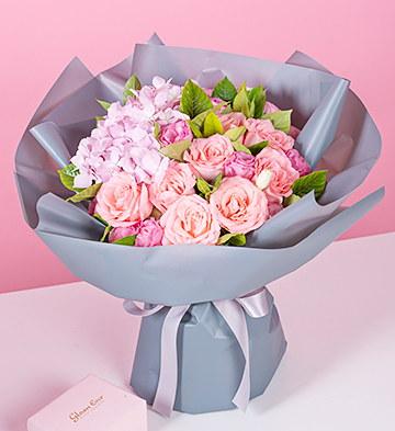 處女座守護花