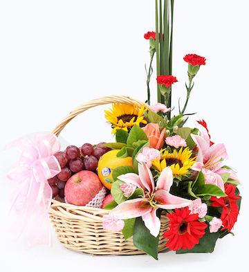 水果花篮-欣喜