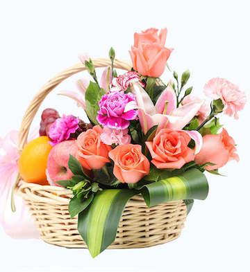 水果花篮-温馨祝福