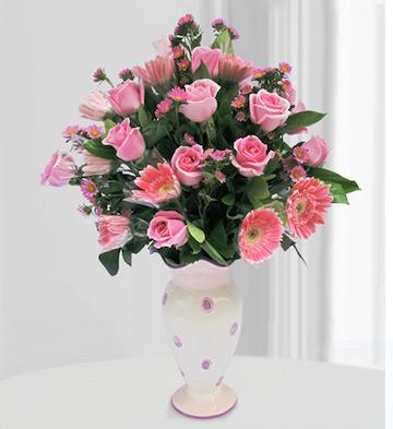 花瓶插花B