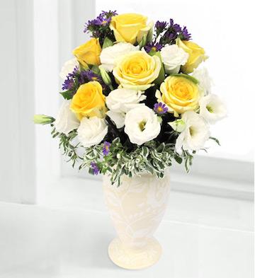 高档花瓶插花C