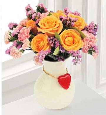 高档花瓶插花E