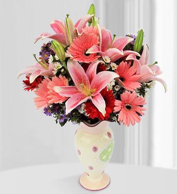 高档花瓶插花H