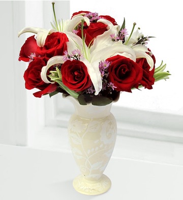 高档花瓶插花I