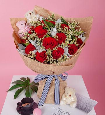 相愛一生/19枝玫瑰
