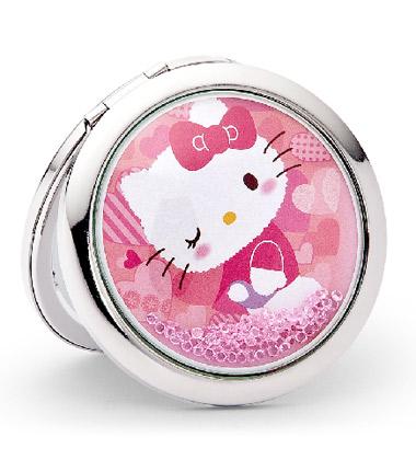 Hello Kitty化妆镜图片