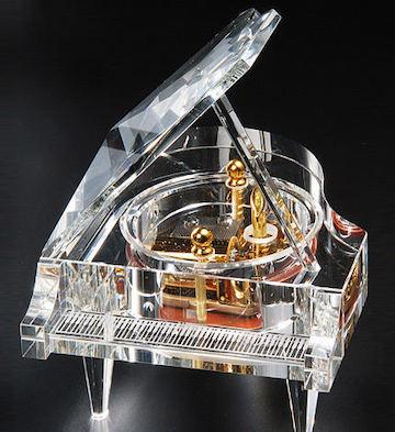 三十音水晶钢琴