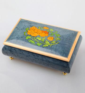 三十音首饰音乐盒/蓝