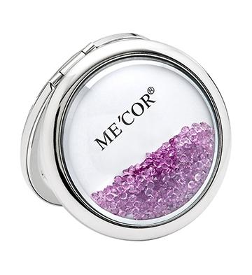 转运水晶化妆镜/紫色
