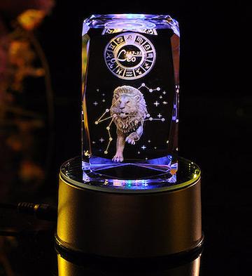 3D水晶内雕-狮子座