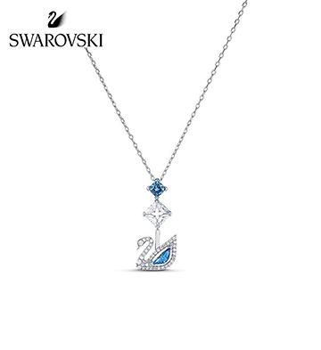 施华洛世奇DAZZLING SWAN项链/蓝调天鹅