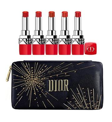 Dior迪奥烈艳蓝金红运「星」年限量版口红套装