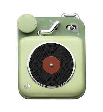 猫王·原子唱机B612 蓝牙智能便携式音箱/绿色